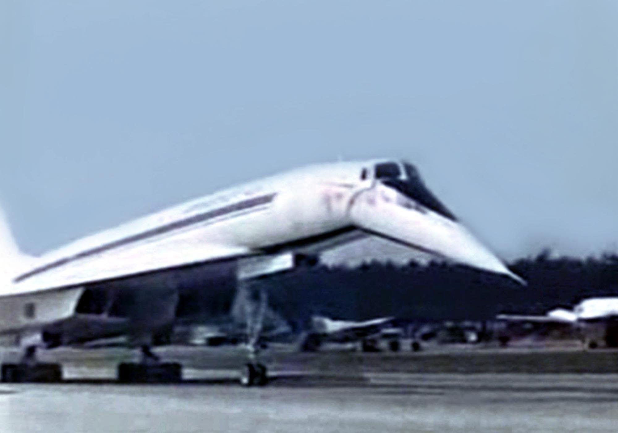 Aeroflot Tupolev TU144 SST Promo Film 1973 Tupolev tu