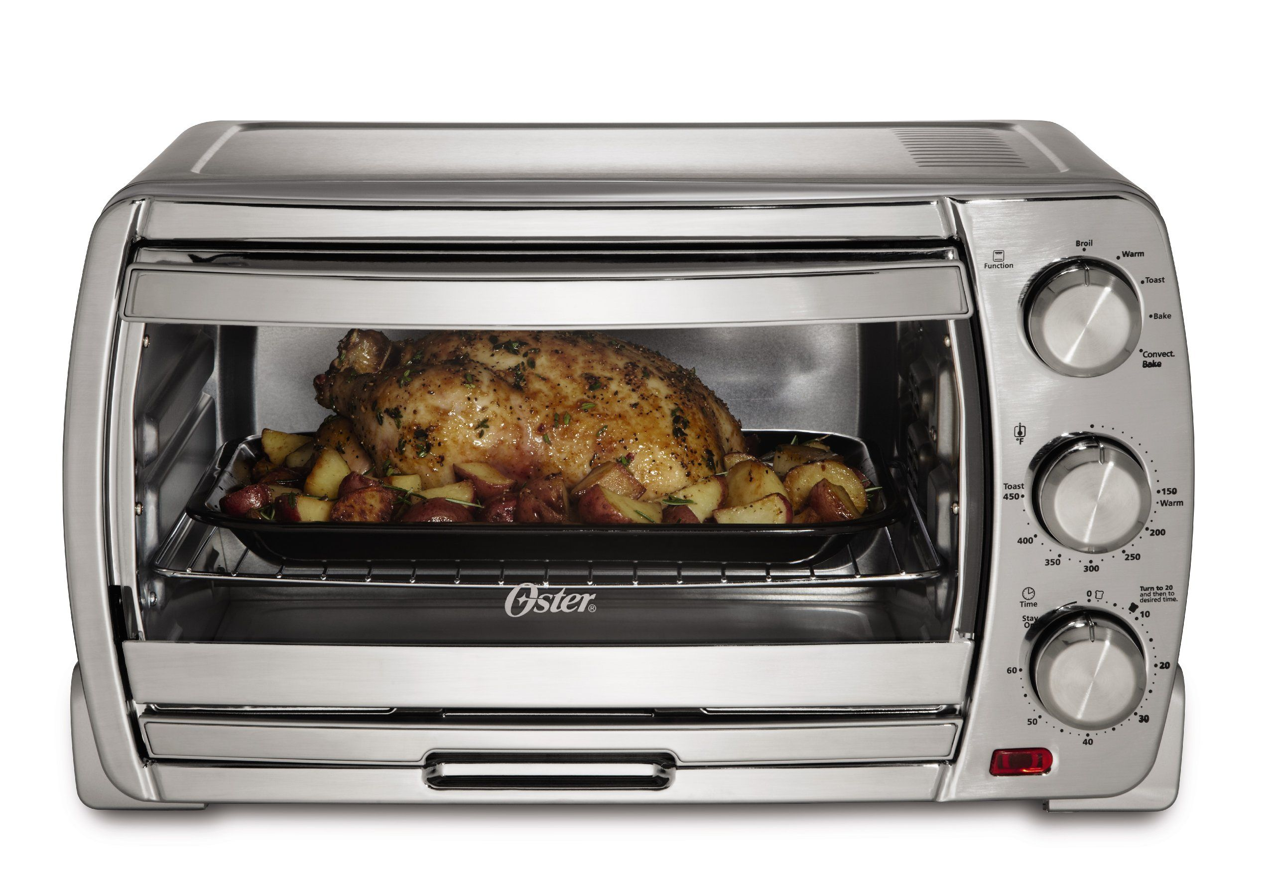 Amazon Com Oster X Large Convection Oven With Brushed