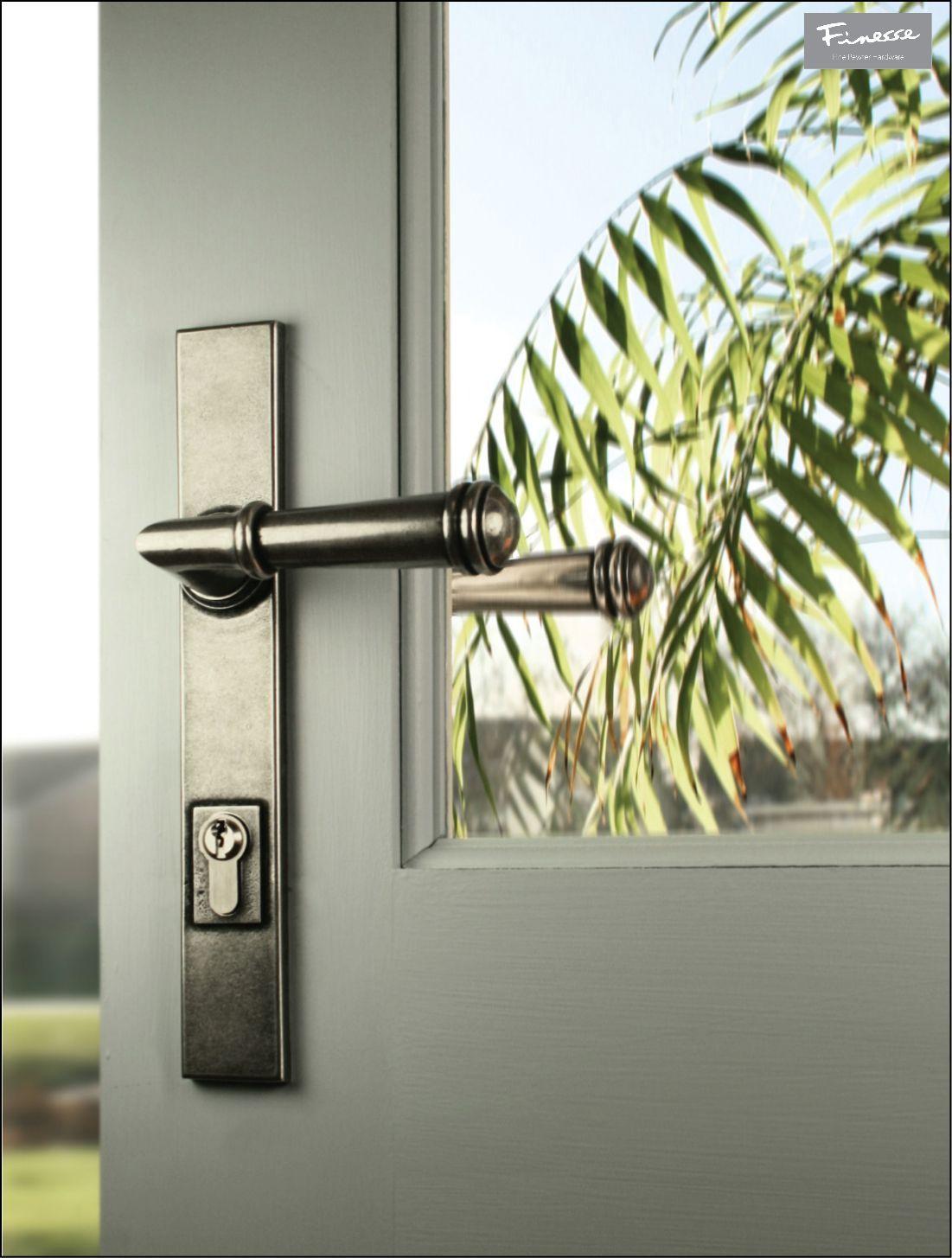 Durham FDMP01 Solid Pewter Multipoint Espag Locking Door