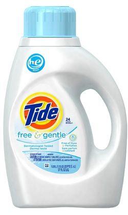 Tide Free Gentle He Liquid Laundry Detergent Tide Laundry