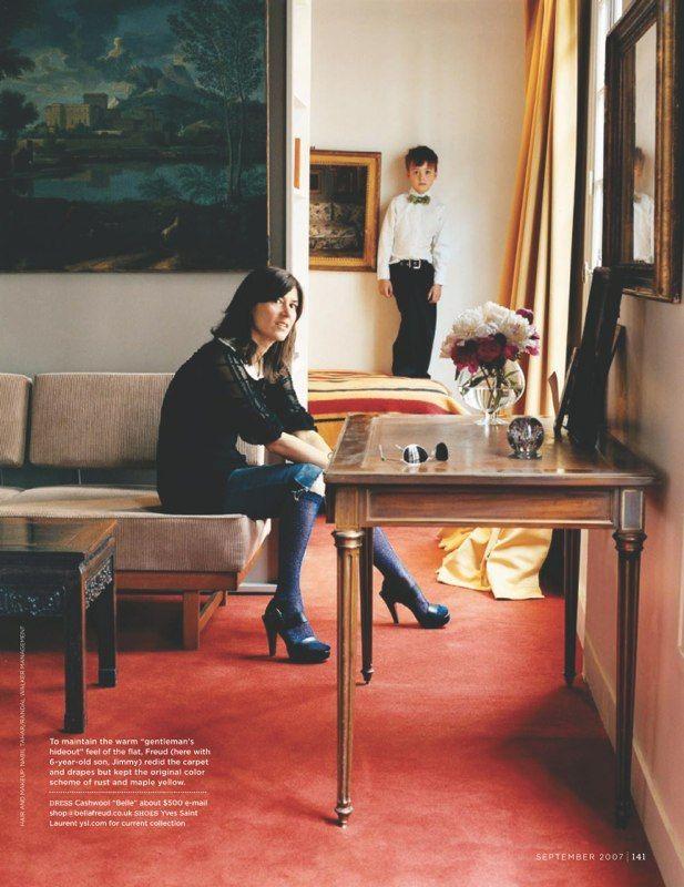 Exceptional Image Result For Bella Freud Domino Magazine, Red Carpet Interior