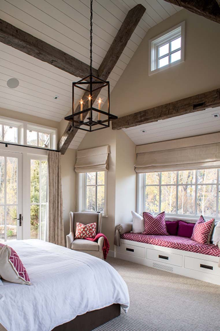 beautifully styled mountain home on the east fork idaho on home interior design bedroom id=79735