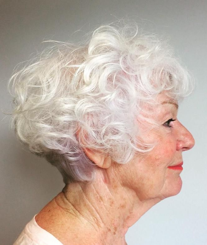 65 Gorgeous Gray Hair Styles Short Curly Hairstyles For Women Gorgeous Gray Hair Grey Curly Hair