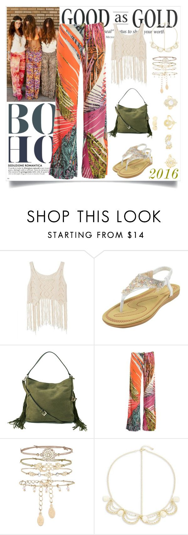 BoHo by marinaova on Polyvore featuring Etro, Diane Von Furstenberg, Charlotte Russe, Accessorize, Robert Rose and boho
