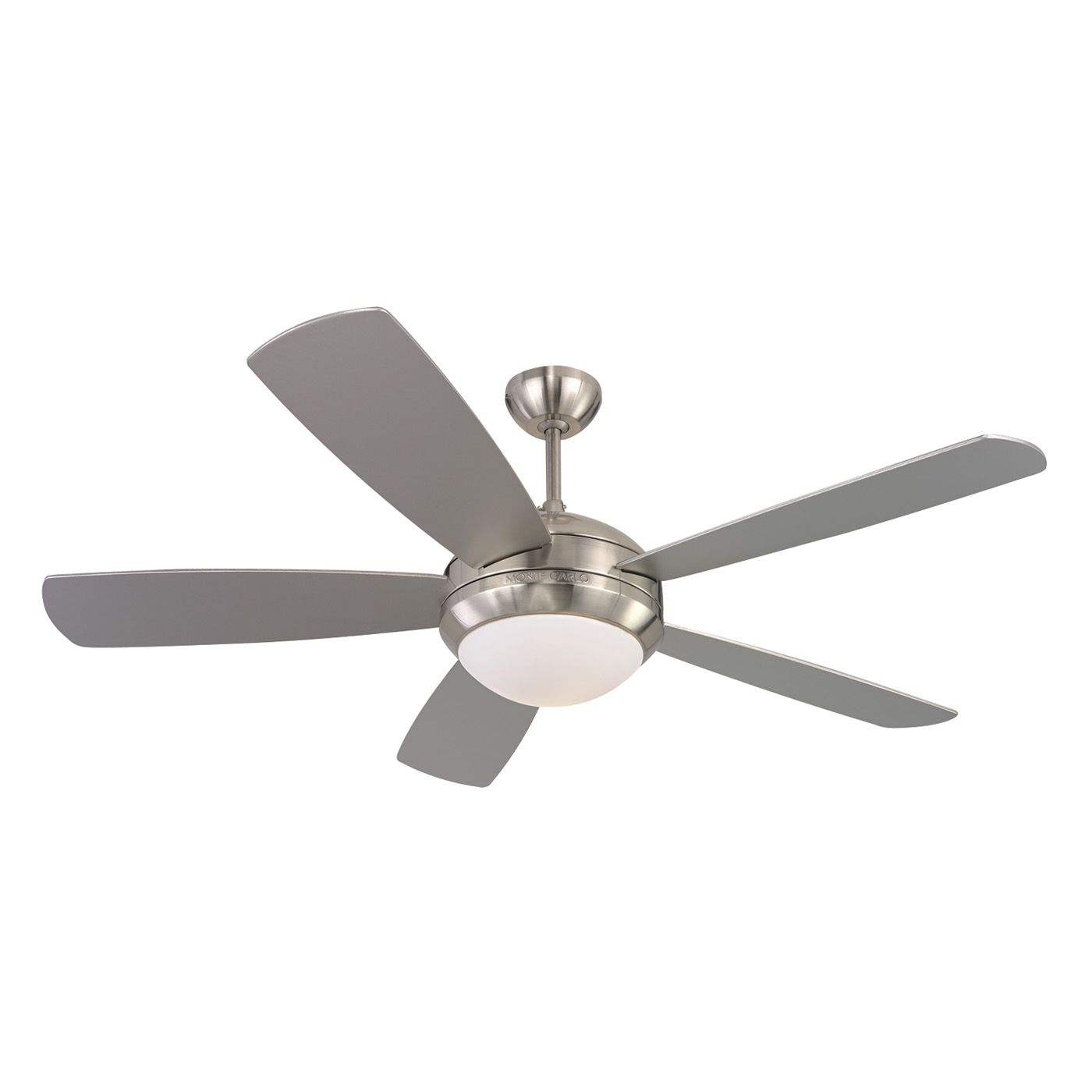 Shop Monte Carlo Fan pany 5DI52 52 in Discus Ceiling Fan at ATG