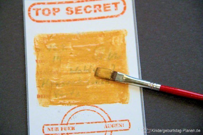Photo of Detective birthday invitation ⋆ Kindergeburtstag-Planen.de