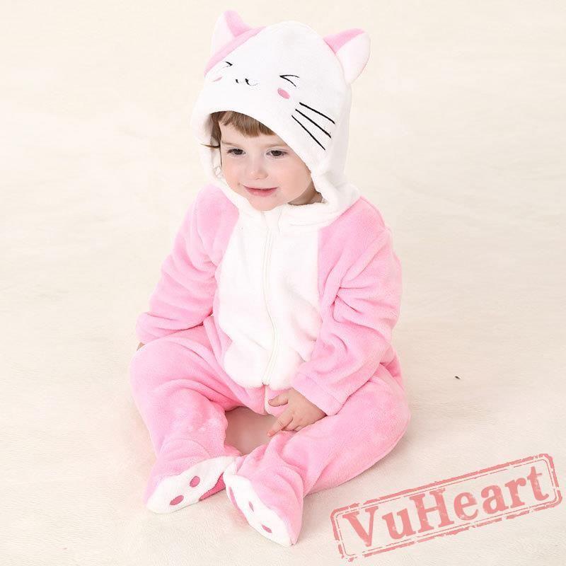28d4ded66b5 Baby Cat Onesie Costume - Kigurumi Onesies
