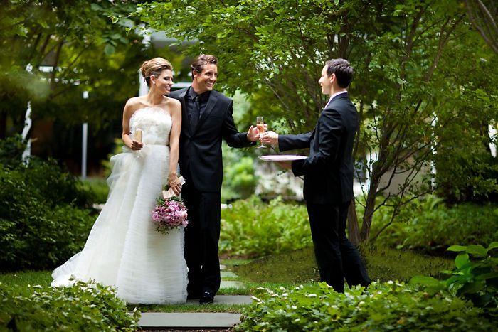 Boston Mandarin Oriental Garden Wedding