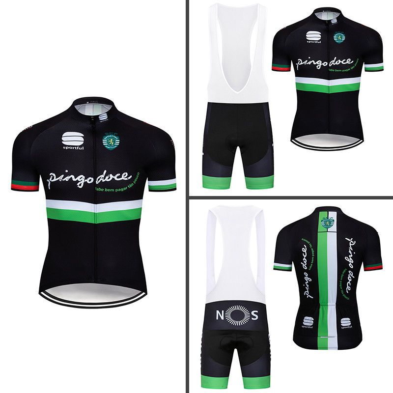 Men Cycling Bib Kits Bike Jersey Shirt Shorts Set Cushion Riding Suits Shirt  Pro  Unbranded f2662123f