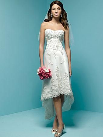 wedding dress simple for short person | Short wedding dresses ...