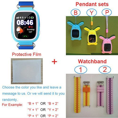 GPS Q90 Watch Touch Screen WIFI Positioning Smart Watch Children SOS Call Location Finder Device Anti Lost Reminder