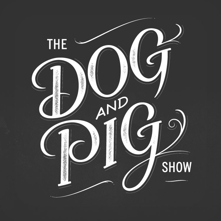 The Dog & Pig Show, Final Logo. by Andy Luce