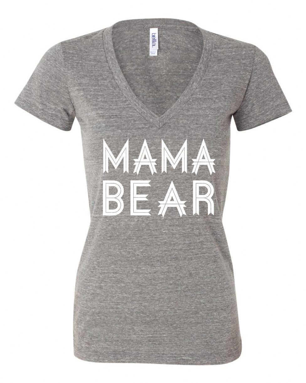 MAMA BEAR shirt mother's day gift mom shirt