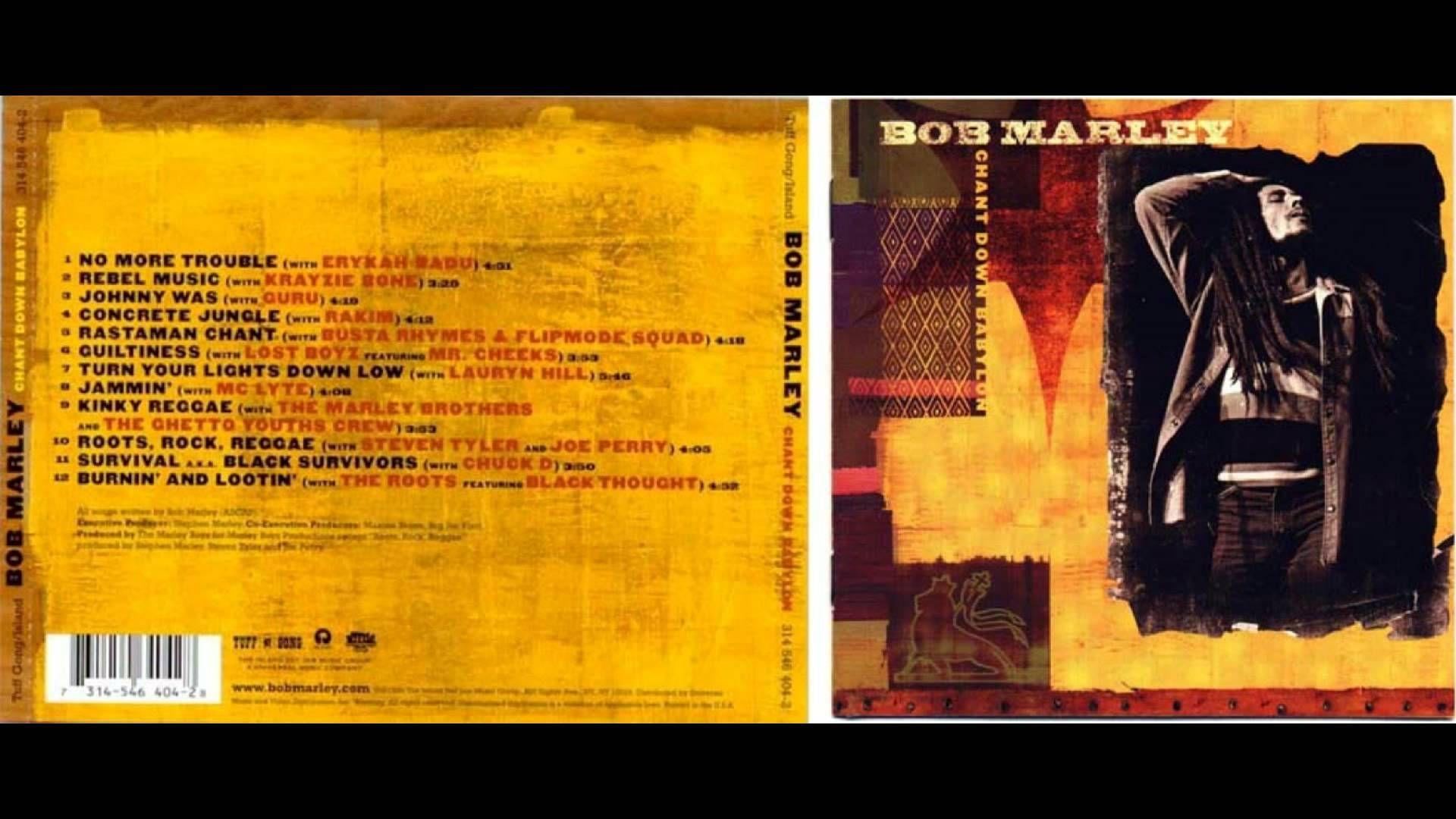 Bob Marley  - Chant Down Babylon [Full Album HQ]