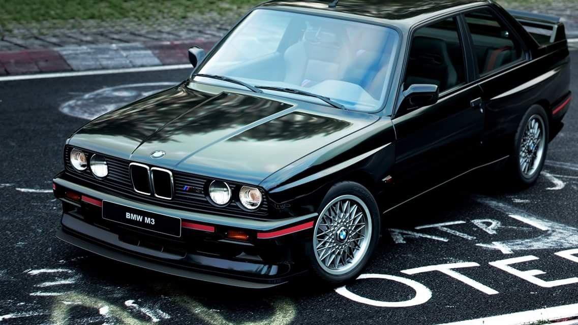 Bmw E30 M3 Gt Sport Evolution Black Bmw E30 Bmw E30 M3 Bmw Alpina