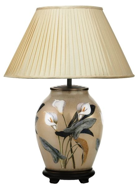 Jenny Worrall Lamps Jenny Worrall Arum Lily Table Lamp Candle