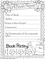 April Book Report Freebie - Includes 3 options ALL free ...