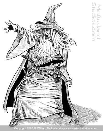 Amazing Wizard Casting Art Wizard Casting Spell Wizard Tattoo Wizard Drawings Tattoo Art Drawings