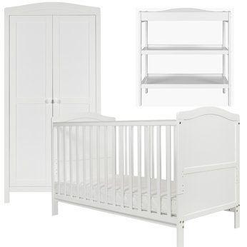 Cambridge Nursery Furniture Set In White Babies R Us Britain S Greatest Toy