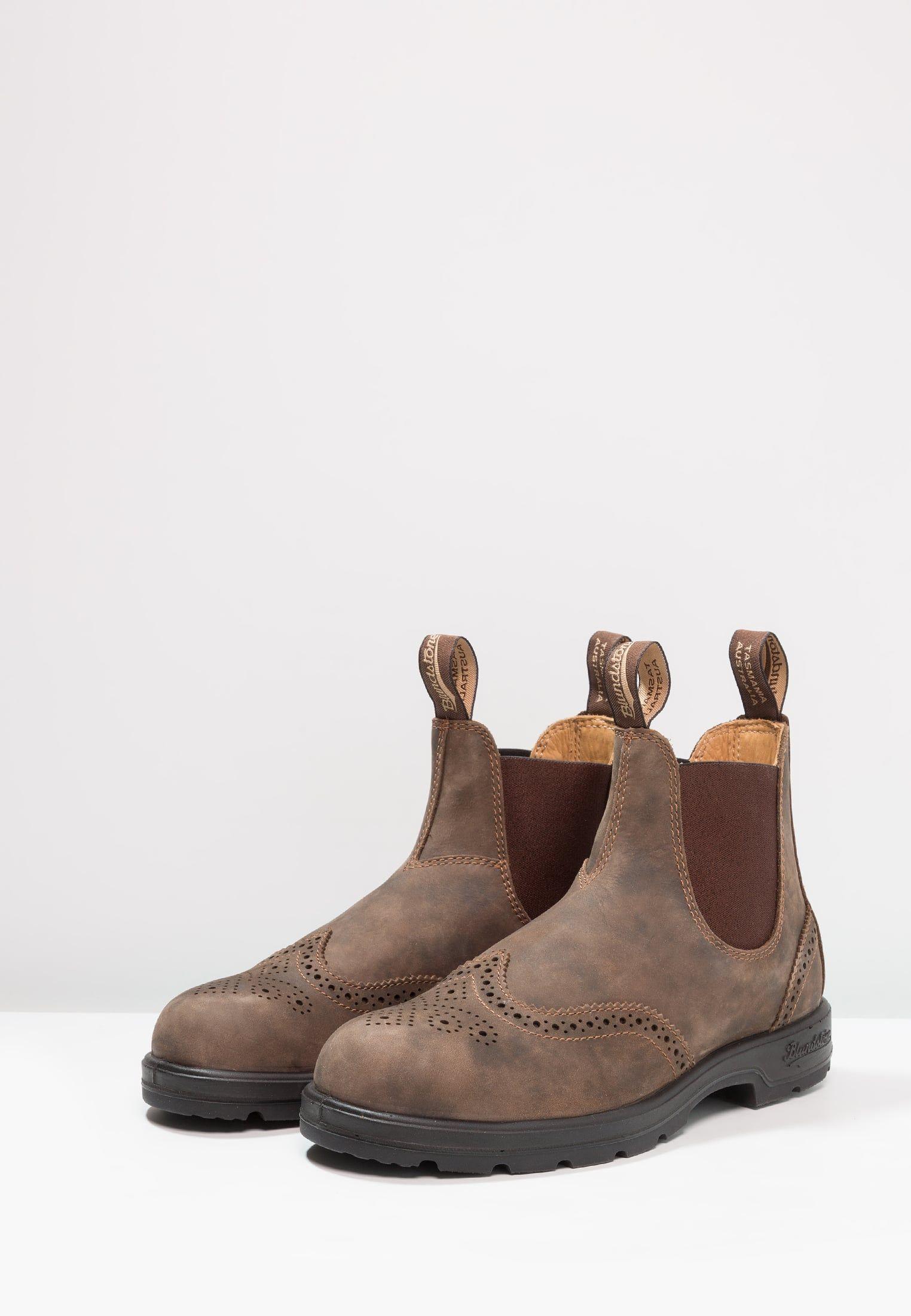 Blundstone CLASSIC WINGCAP - Stivaletti - rustic brown - Zalando.it