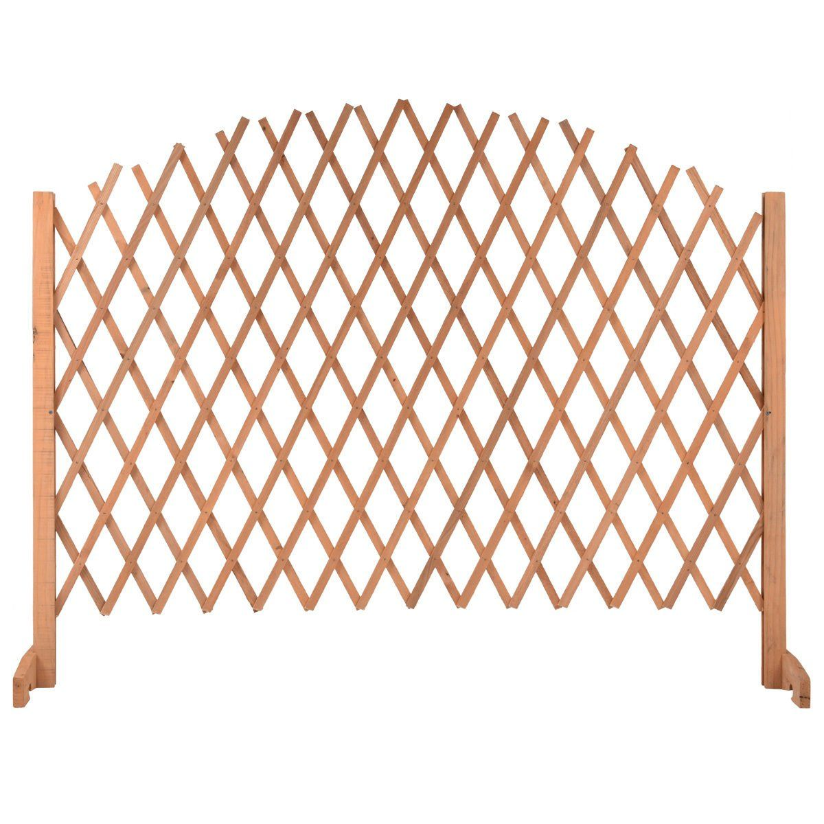 expanding portable fence wooden screen