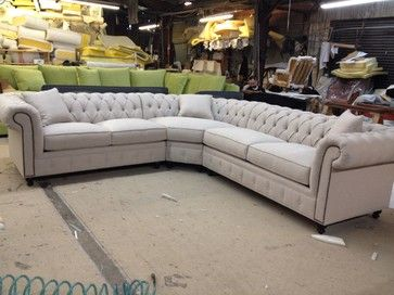 Kenzie Style Aka Nellie Chesterfield Sofa Or Sectional Traditional Sofas