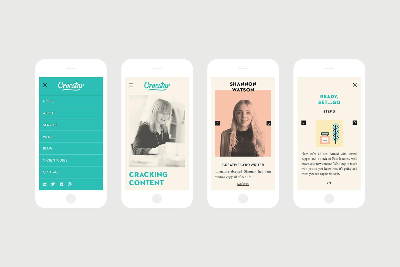 Crocstar – Digital Copywriters on Behance