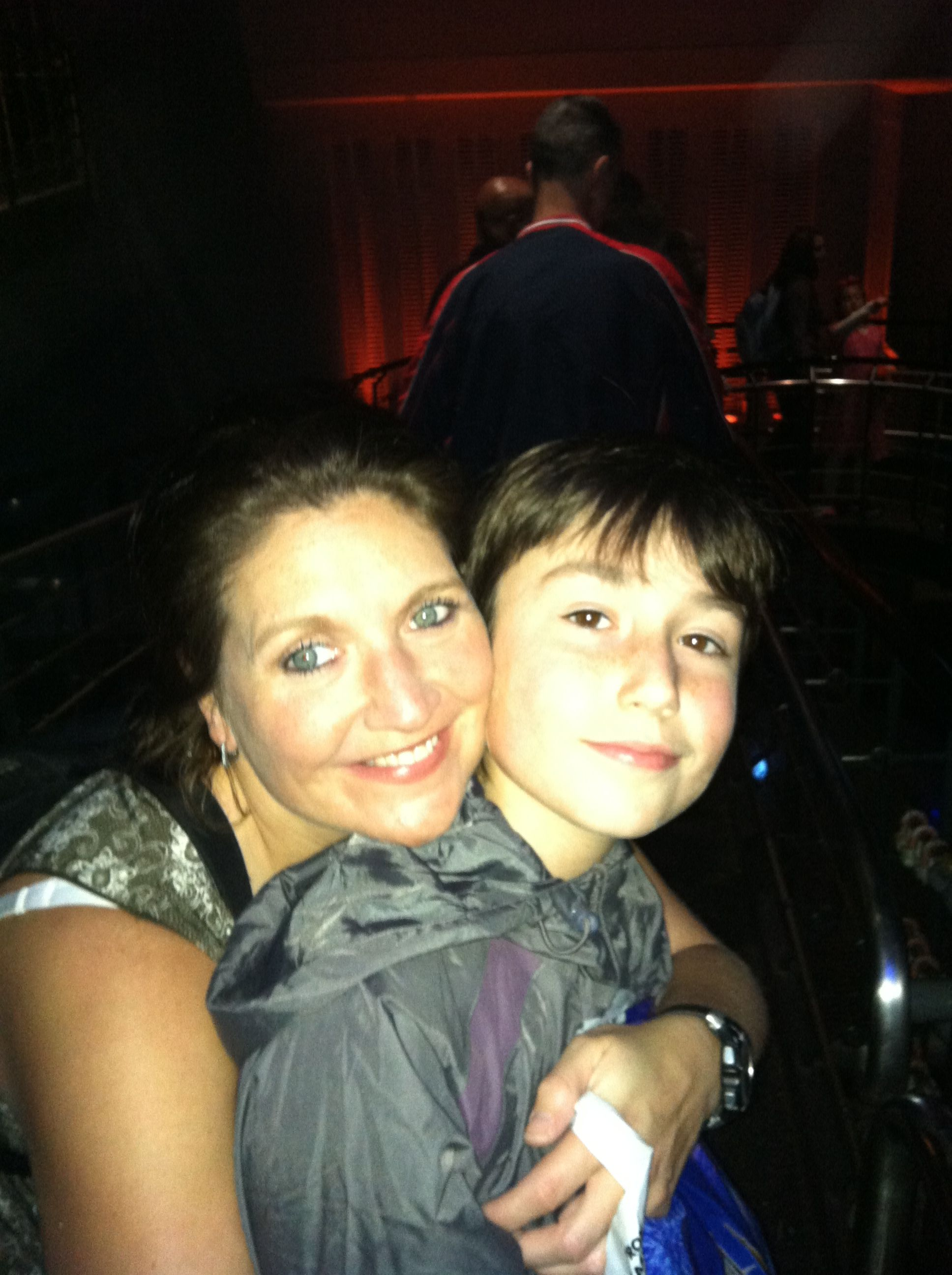 Me and my number one man my son Charlie.