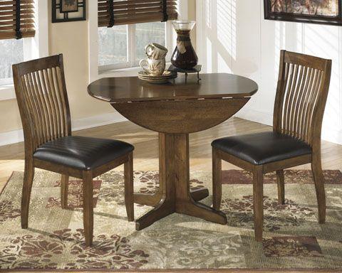 Stuman 3pc Drop Leaf Table Set Gage Furniture