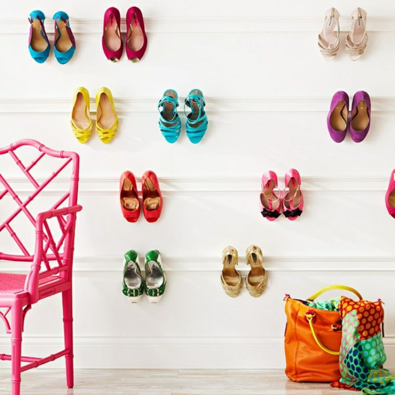 ordnung in den flur bringen schuhregal selber bauen - Schuhregale Setzen Schuh Kollektion