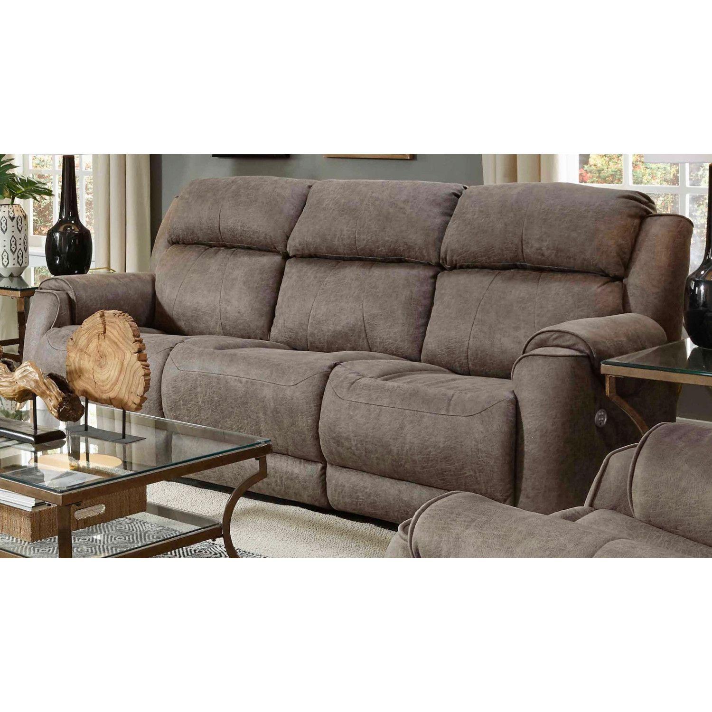 Safe Bet Headrest Reclining Sofa