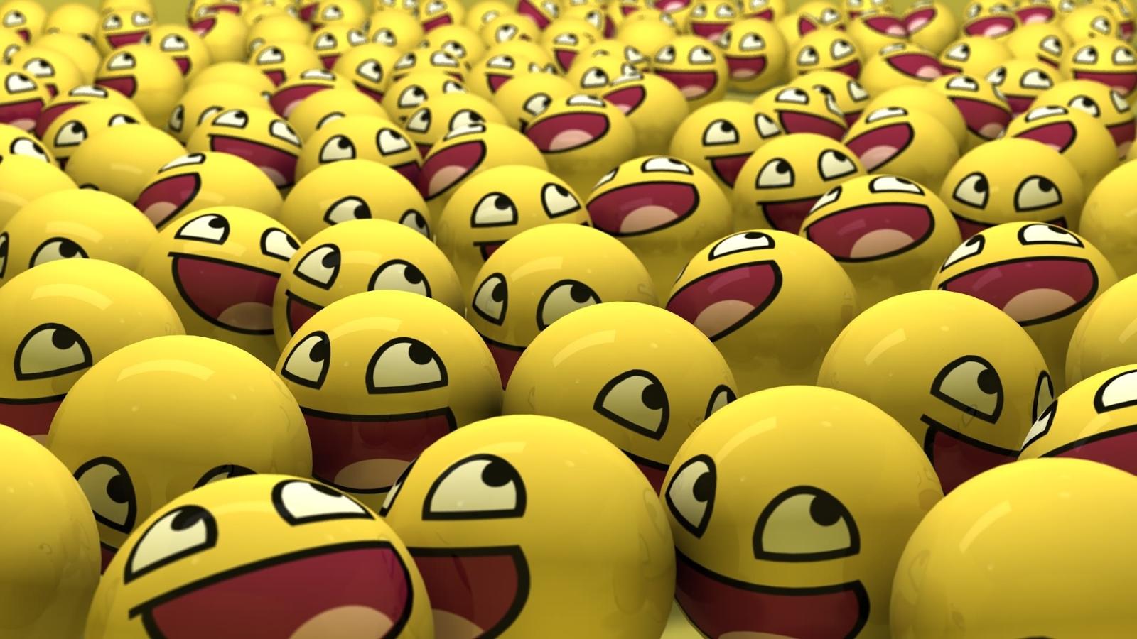Pics For > Emoji Faces Background Emoticons, Ideias, Celular