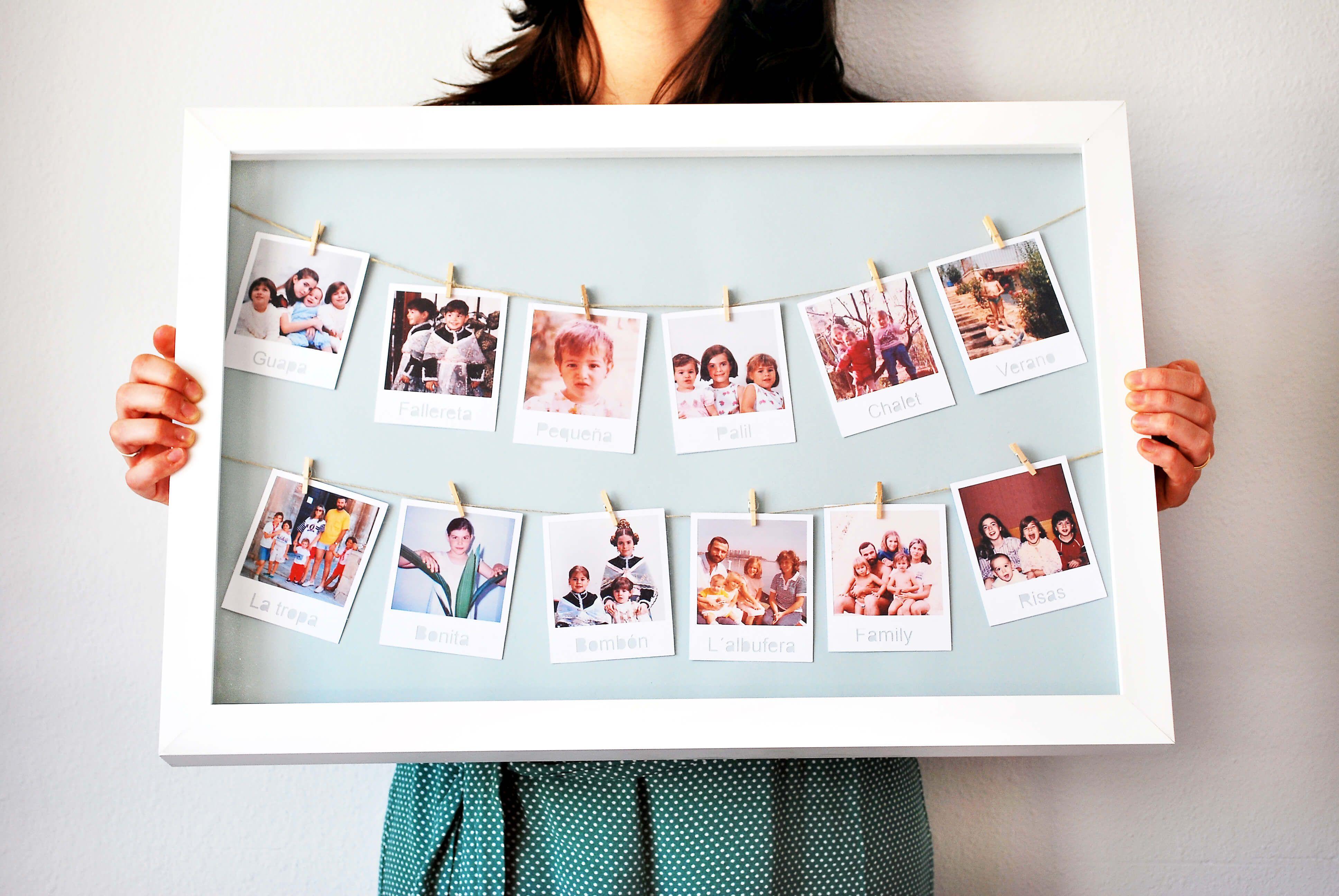 Идея для открытки с фотографиями
