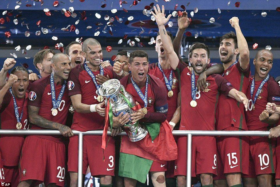 Portugal 10 France (AET) Eder's thunderous strike wins