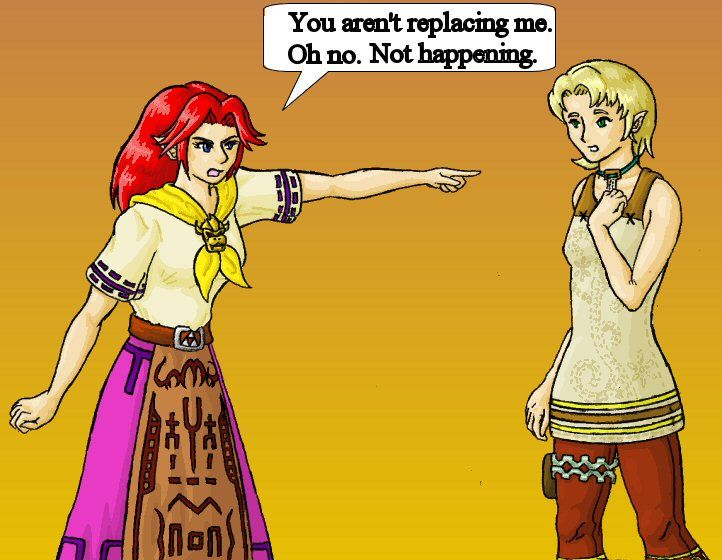 Link and Ilia by StellaB on DeviantArt