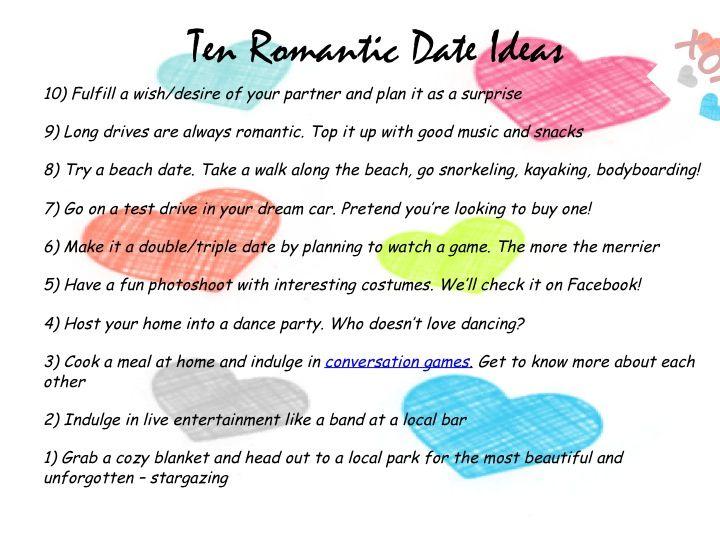My 10 romantic ideas! | DIY | Pinterest