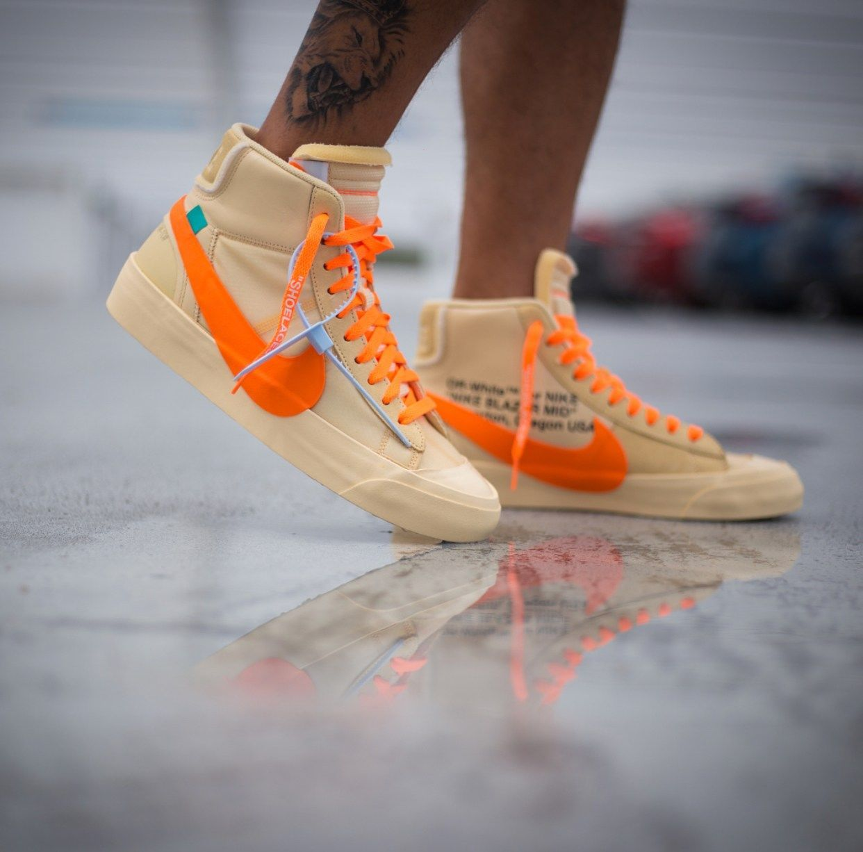 Off White Nike Blazer Studio Mid All Hallow S Eve With Images