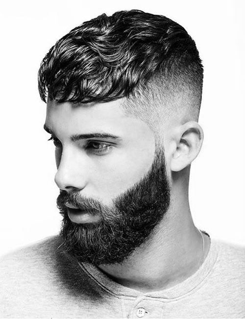Short Wavy Hair For Men 70 Masculine Haircut Ideas Thick Hair Styles Haircuts For Men Mens Haircuts Fade