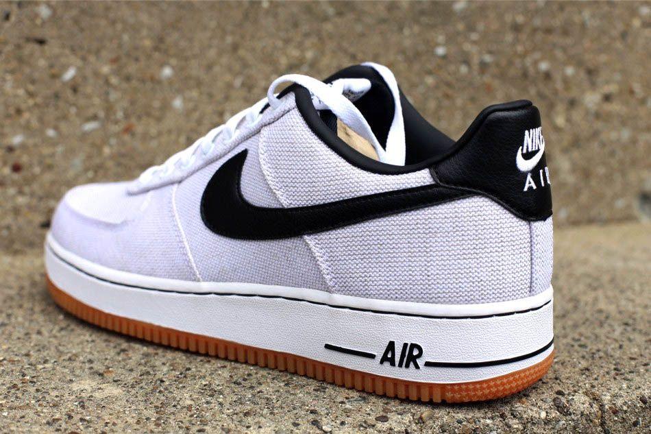 Nike Air Force 1 '07 Canvas - White/Black