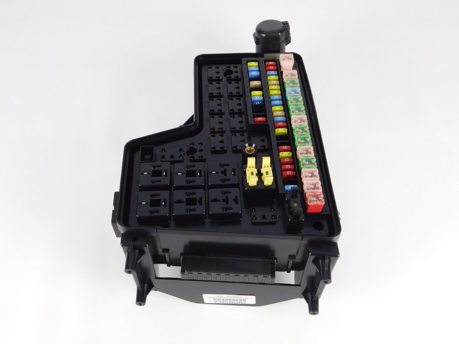hight resolution of 2005 dodge ram 2500 3500 fuse box relay power distribution junction block oem