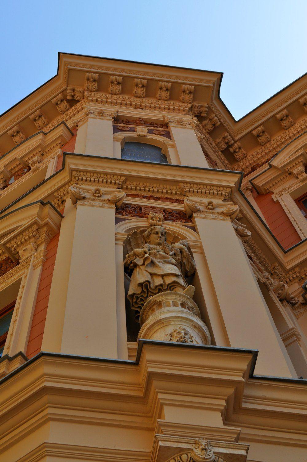 Gorgeous Details On A Building In Zagreb Croatia Croatie