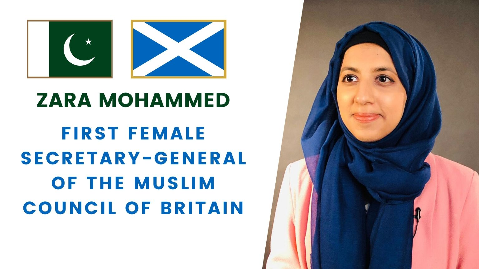 ZARA MOHAMMED | First Female Secretary-General of the Muslim Council of Britain