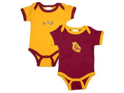 NCAA Infant 2 Pack Contrast Creeper - ASU Sun Devils  ceff787bb