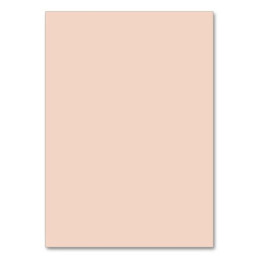 Beige Peach Pink Color Trend Blank Template Business Card Business