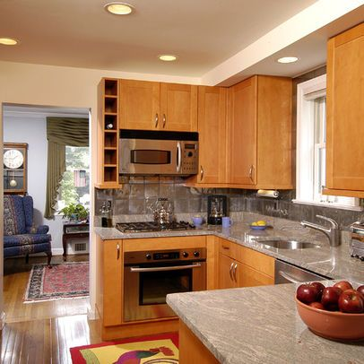 traditional home small l shaped kitchen design pictures remodel decor and ideas page 4 on l kitchen remodel id=61783