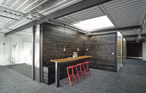 Liverpool Warehouse Converted Into Creative Offices By Snook Architects Office Interior DesignOffice