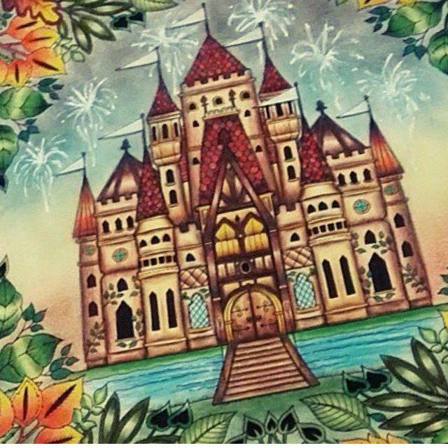 Floresta Encantada Jardim Secreto Castelo