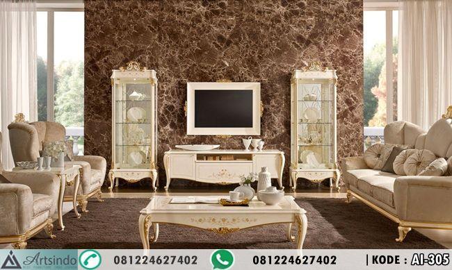 Desain Ruang Tamu Mewah AI-305   bufet tv   Pinterest   Tv sets and ...