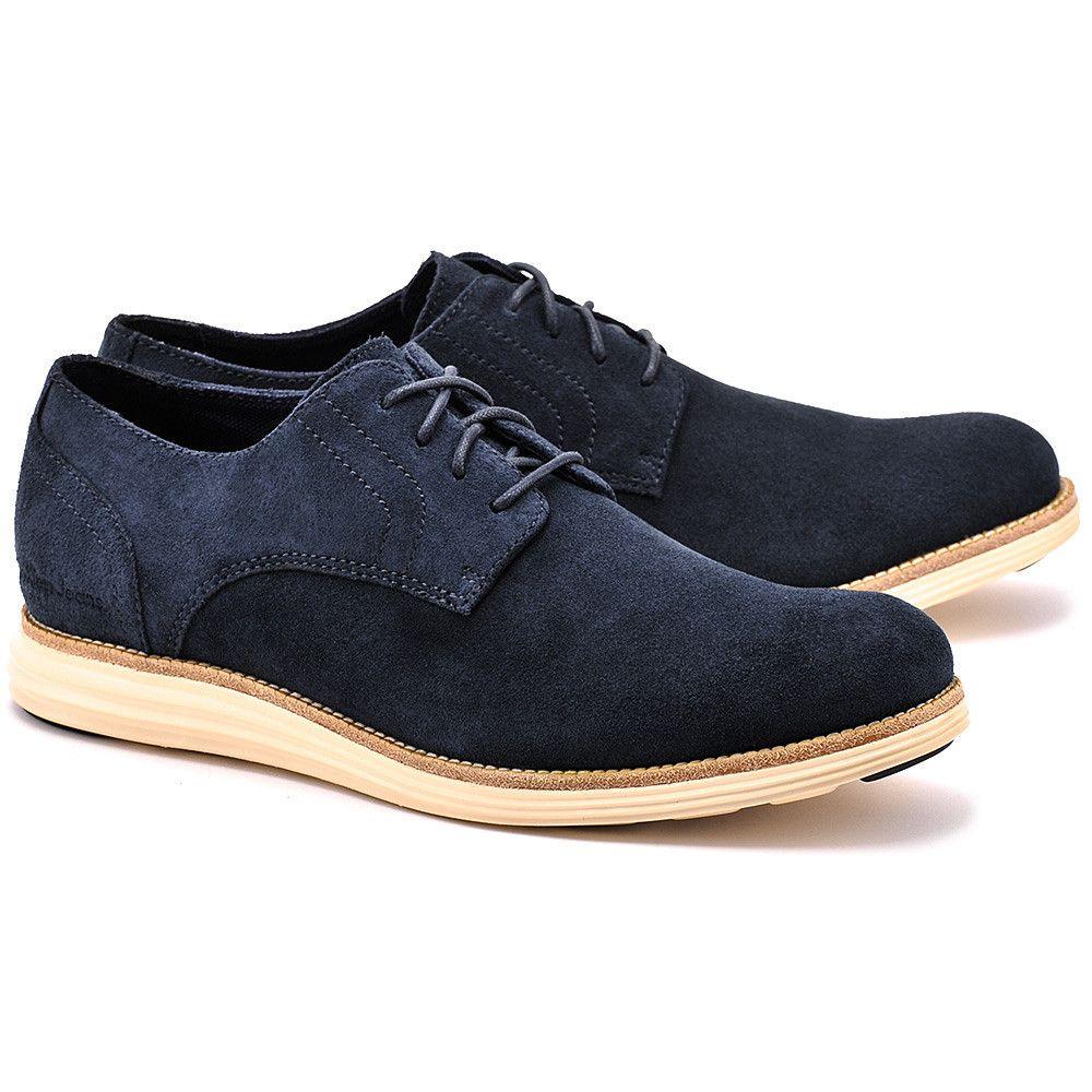 Calvin Klein Sean Granatowe Zamszowe Polbuty Meskie Buty Mezczyzni Polbuty Mivo Dress Shoes Men Oxford Shoes Shoes