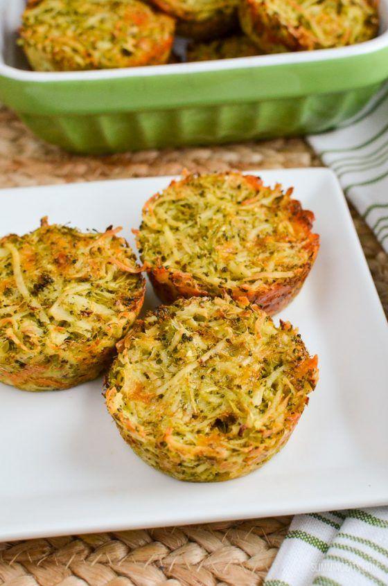 Syn Free Broccoli Cheddar Hash Brown Muffins